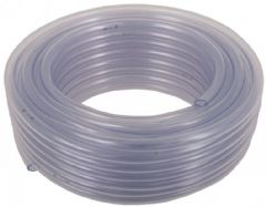 8mm Clear Unreinforced PVC Hose - sold per metre 503-1008